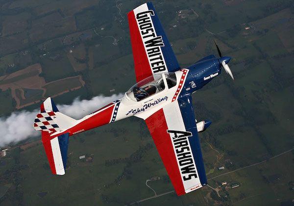 Nathan Hammond (Skywriter) - GhostWriter Air Shows
