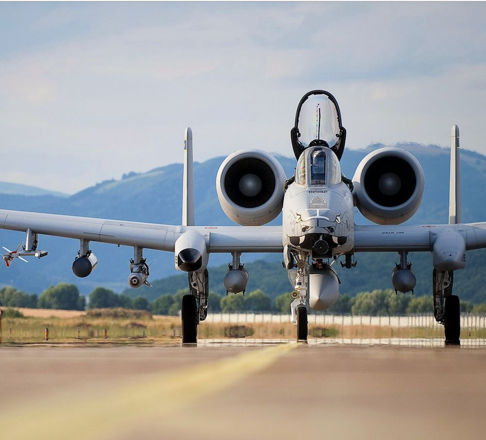 U.S. Air Force A-10 Thunderbolt II Display
