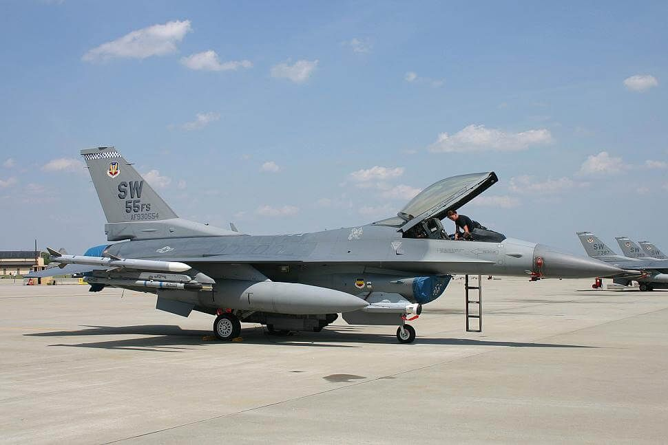 U.S. Air Force F-16 Fighting Falcon