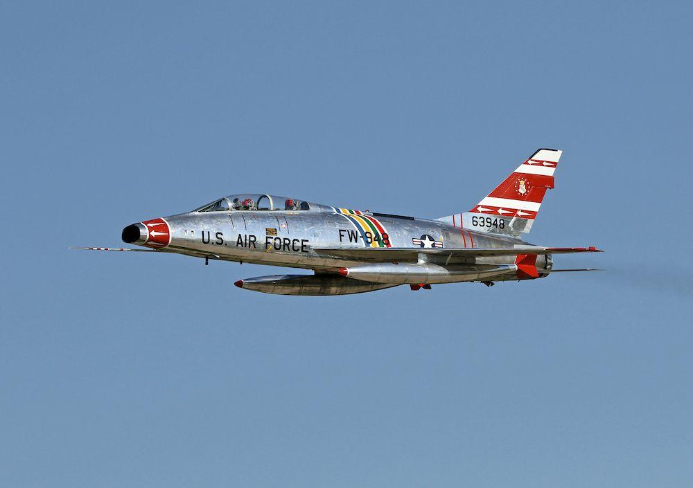 F 100 Super Sabre Ft Wayne Air Show